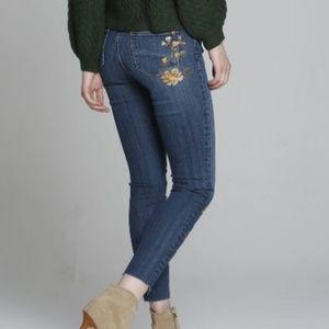 DRIFTWOOD JACKIE CUT OFF SKINNY JEANS SIZE 26